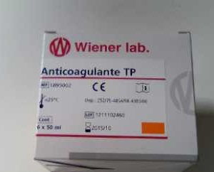WIE-ANTICOAGULANTE TP (CITRATO SODICO) 50ML