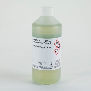 REACTIVO DE HIERRO FERROZINE®, 500 ML