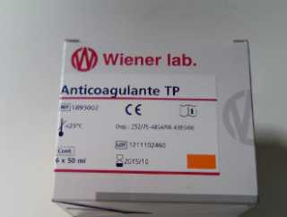 ANTICOAGULANTE TP (CITRATO SODICO) 50ML